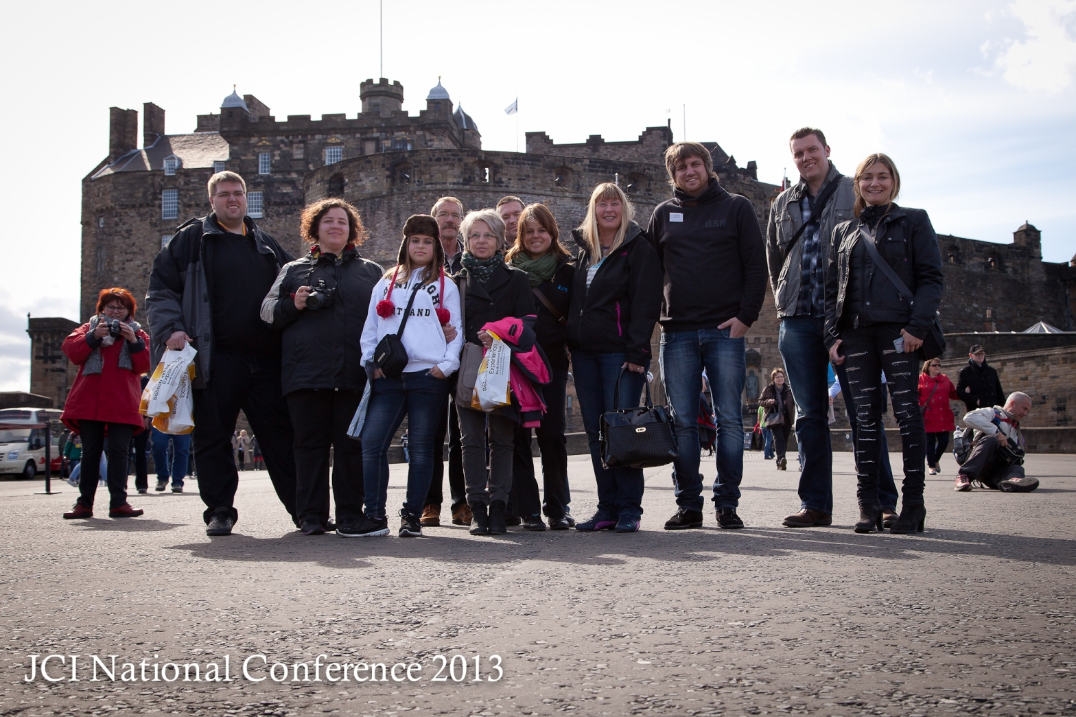 Edinburgh Castle Esplanade