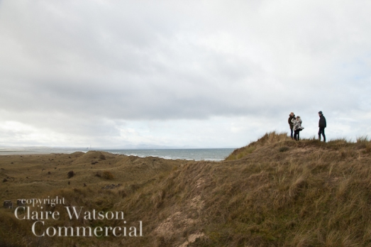 couple looking out to sea